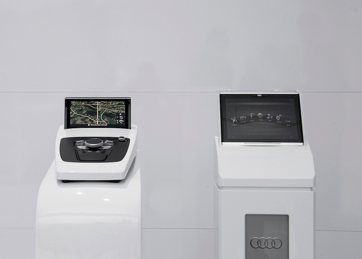 Tablette Smart Display, concentré de technologie Audi