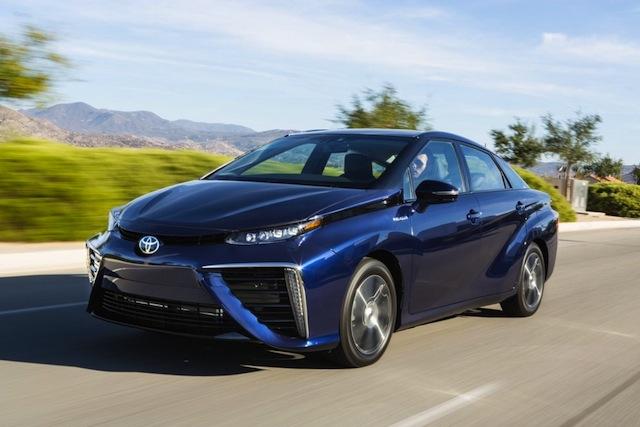 Toyota lance la voiture à pile à combustible